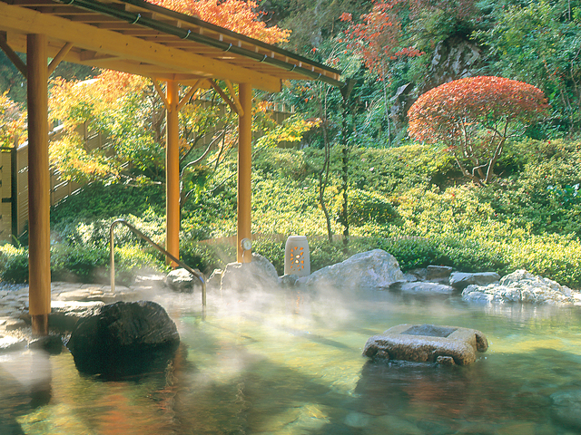 ゴルフ場の温泉でも温泉の一般的なマナーは一緒